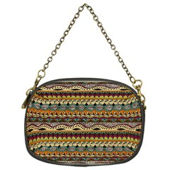 Aztec Pattern Chain Purses (one Side)