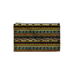 Aztec Pattern Cosmetic Bag (Small)