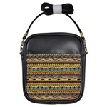Aztec Pattern Girls Sling Bags Front