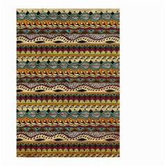 Aztec Pattern Small Garden Flag (Two Sides)