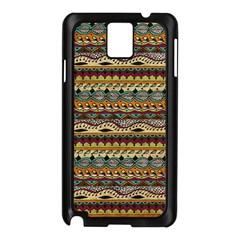 Aztec Pattern Samsung Galaxy Note 3 N9005 Case (black)