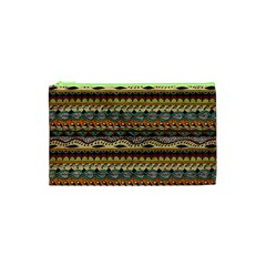 Aztec Pattern Cosmetic Bag (XS)