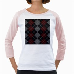 Wool Texture With Great Pattern Girly Raglans