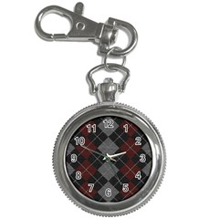 Wool Texture With Great Pattern Key Chain Watches
