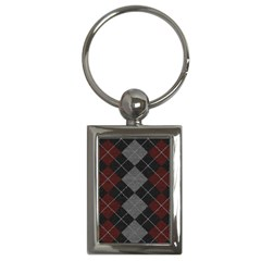 Wool Texture With Great Pattern Key Chains (Rectangle)