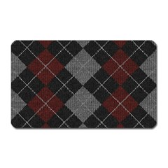 Wool Texture With Great Pattern Magnet (rectangular)