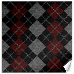 Wool Texture With Great Pattern Canvas 20  X 20