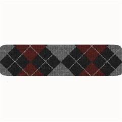 Wool Texture With Great Pattern Large Bar Mats