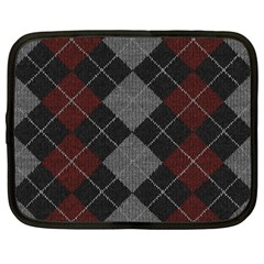 Wool Texture With Great Pattern Netbook Case (Large)