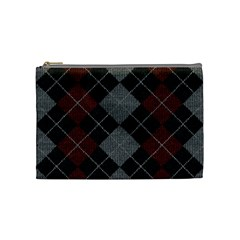 Wool Texture With Great Pattern Cosmetic Bag (medium)