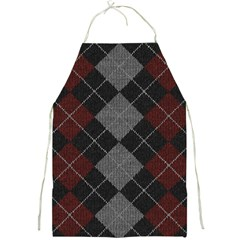 Wool Texture With Great Pattern Full Print Aprons