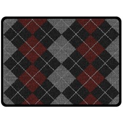 Wool Texture With Great Pattern Fleece Blanket (large)