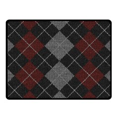 Wool Texture With Great Pattern Fleece Blanket (small)