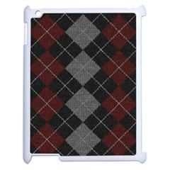 Wool Texture With Great Pattern Apple Ipad 2 Case (white)