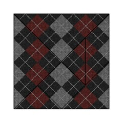 Wool Texture With Great Pattern Acrylic Tangram Puzzle (6  X 6 )