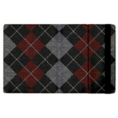 Wool Texture With Great Pattern Apple Ipad 2 Flip Case