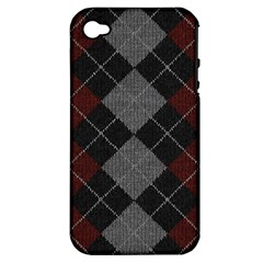 Wool Texture With Great Pattern Apple iPhone 4/4S Hardshell Case (PC+Silicone)