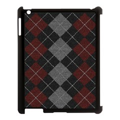 Wool Texture With Great Pattern Apple Ipad 3/4 Case (black)