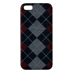Wool Texture With Great Pattern Apple iPhone 5 Premium Hardshell Case