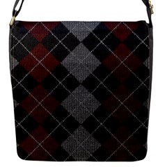 Wool Texture With Great Pattern Flap Messenger Bag (S)