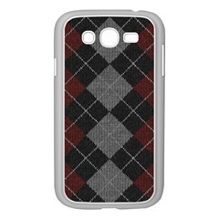 Wool Texture With Great Pattern Samsung Galaxy Grand Duos I9082 Case (white)