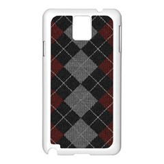 Wool Texture With Great Pattern Samsung Galaxy Note 3 N9005 Case (White)