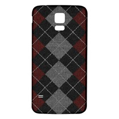 Wool Texture With Great Pattern Samsung Galaxy S5 Back Case (White)