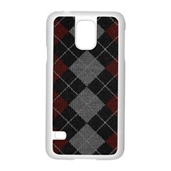 Wool Texture With Great Pattern Samsung Galaxy S5 Case (white)