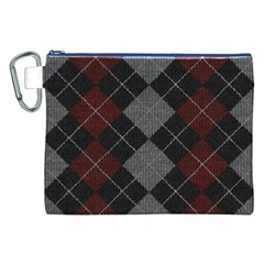 Wool Texture With Great Pattern Canvas Cosmetic Bag (XXL)