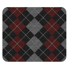 Wool Texture With Great Pattern Double Sided Flano Blanket (Small)