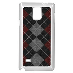 Wool Texture With Great Pattern Samsung Galaxy Note 4 Case (white)