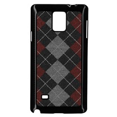Wool Texture With Great Pattern Samsung Galaxy Note 4 Case (black)