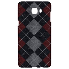 Wool Texture With Great Pattern Samsung C9 Pro Hardshell Case