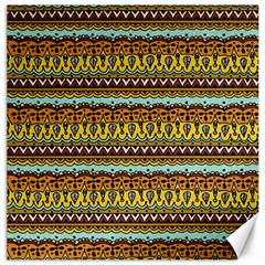 Bohemian Fabric Pattern Canvas 20  x 20
