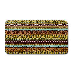Bohemian Fabric Pattern Medium Bar Mats
