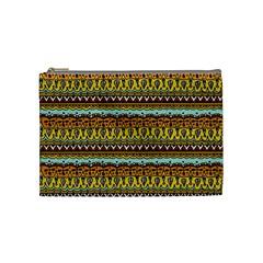 Bohemian Fabric Pattern Cosmetic Bag (Medium)