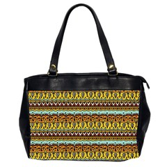 Bohemian Fabric Pattern Office Handbags (2 Sides)
