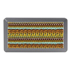 Bohemian Fabric Pattern Memory Card Reader (Mini)