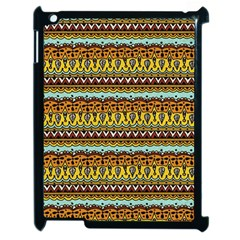 Bohemian Fabric Pattern Apple Ipad 2 Case (black)