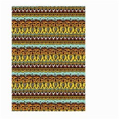 Bohemian Fabric Pattern Large Garden Flag (Two Sides)