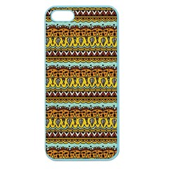 Bohemian Fabric Pattern Apple Seamless iPhone 5 Case (Color)