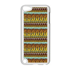 Bohemian Fabric Pattern Apple iPod Touch 5 Case (White)