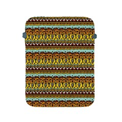 Bohemian Fabric Pattern Apple iPad 2/3/4 Protective Soft Cases