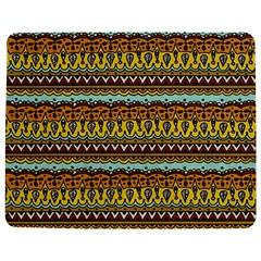 Bohemian Fabric Pattern Jigsaw Puzzle Photo Stand (rectangular)