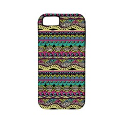 Aztec Pattern Cool Colors Apple iPhone 5 Classic Hardshell Case (PC+Silicone)