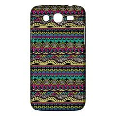 Aztec Pattern Cool Colors Samsung Galaxy Mega 5.8 I9152 Hardshell Case