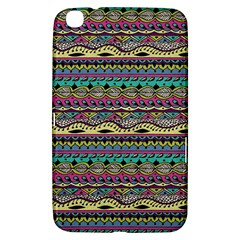 Aztec Pattern Cool Colors Samsung Galaxy Tab 3 (8 ) T3100 Hardshell Case