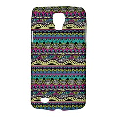 Aztec Pattern Cool Colors Galaxy S4 Active