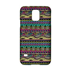 Aztec Pattern Cool Colors Samsung Galaxy S5 Hardshell Case