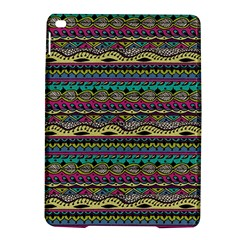 Aztec Pattern Cool Colors iPad Air 2 Hardshell Cases